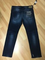 NWD Mens Diesel BUSTER STRETCH Denim 084GF DARK BLUE Slim W34 L30 H7 RRP£180