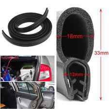 3M Car Door Black Rubber O U Channel Edge Edging Trim Seal Trunk Strip