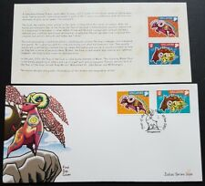 Singapore Zodiac 2003 Lunar New Year of the Goat 2v Stamps FDC