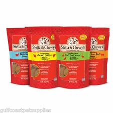 Stella & Chewy's Variety Pack Freeze Dried Dog Food, 14oz (Beef,Chk,Lamb,Duck)