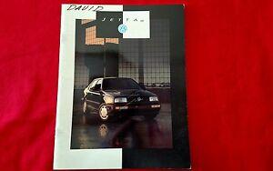 Original Volkswagen 1993 Jetta GL and GLS Sales Brochure