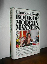 Charlotte Ford's Book of Modern Manners, Charlotte ford, Very Good Book