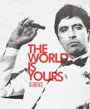 Scarface World is Yours Al Pacino Gangster 80s Movie Iron On T-Shirt Transfer A5