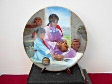 Beautiful Creations 1993 Decorative Plate Collection Pre-Owned