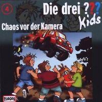 """DIE DREI ??? KIDS """"CHAOS VOR DER KAMERA (FOLGE 04)"""" CD NEUWARE"""