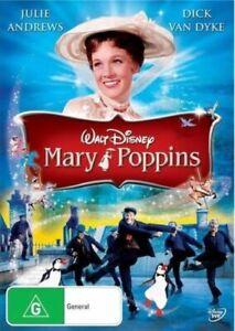 Walt Disney's MARY POPPINS DVD 1964 NEW Region 4 Julie Andrews Musical Classic