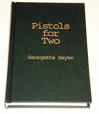 GEORGETTE HEYER: PISTOLS FOR TWO, NEW HARDCOVER, LIMITED EDITION