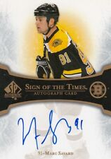 MARC SAVARD NO:ST-MS SIGN OF THE TIMES in SP AUTHENTIC 2007-08