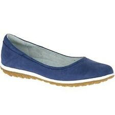 New  Hush Puppies Women's Berkleigh Audra Ballet Flat, Size 8 Blue