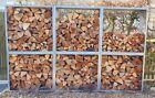 Ideal für Brennholz ++ Kaminholz-/ Brennholzregal für Außen ++ Metall verzinkt