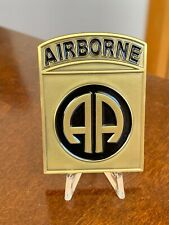 Airborne Operation Iraqi Freedom Task force All American  challenge coin