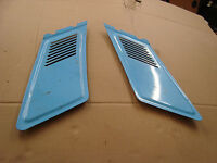 Ford Escort mk2 Estate rear inner vent covers.