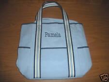 "Pottery Barn Kids Diaper Bag/Tote Bag Blue ""Pamela"" New!"