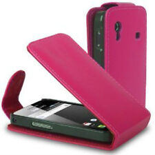 PINK Leather flip case cover for Samsung Galaxy Ace GT-S5830G / S5830M / S5830L