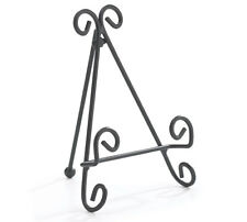 ~~ONE (1) METAL SCROLL DESIGN EASEL STAND~SMALL PLATE DISPLAY~~