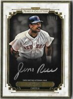 JIM RICE 2014 Topps Museum Gold Framed Autograph Auto 03/15 Red Sox