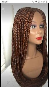 Box braided hand made Wigin colour 340. Light brown, in stock!!