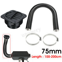 75mm Heater Pipe Duct Warm Air Outlet Hose Clip For Diesel Propex Webasto 10025