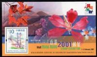 China Hong Kong 2000 2001 Stamp Expo S/S Stamp 2