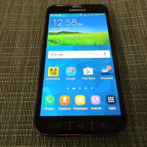 SAMSUNG GALAXY S5 SPORT, 16GB (SPRINT) WORKS, PLEASE READ!! 41365