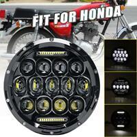 "DOT 7"" inch 85W CREE LED Headlight For Honda Shadow VT1100 VT750 VT600 VF750 1PC"