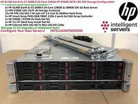 HP D3600 48TB SAS DL360 Gen9 24-Core 256GB Server Storage Configuration