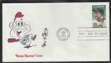 #2417 Lou Gehrig FDC with Animated Ellis cachet