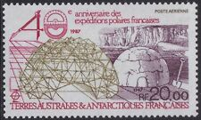 TAAF PA N°102**  Expéditions polaires, 1988 FSAT MNH