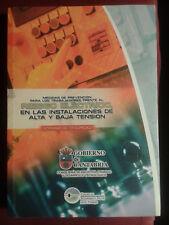 Prevencion Riesgo Electrico en instalaciones Alta y Baja Tension. Libro Nuevo