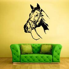 Wall Vinyl Sticker Bedroom Horse mustang decal farm house animal decor art z640