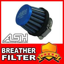 Mini Air Oil Crankcase Vent Breather Filter 18mm BLUE