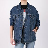 Levi's Oversize Trucker blau Denim Damen Jacket M