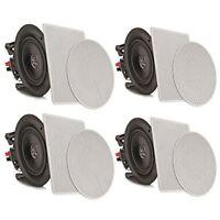 "Sound Around Pyle 8"" 4 Bluetooth Flush Mount In-wall In-ceiling 2-Way Speaker"