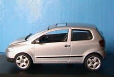 VW VOLKSWAGEN FOX 1.4 2005 SCHUCO 1/43 SILVER 3 DOORS SILBER ARGENTE