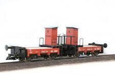 2 Boerman Rollbock-Bremswagen HSB, Spur G mit Bremserhaus, Spur 2