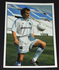 N°2 LAURENT BLANC OLYMPIQUE MARSEILLE OM FOOTBALL PANINI 1899-1999 100 ANS