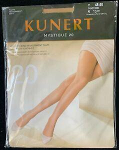 Kunert Mystique 20 Tights Strumpfhose Transparent Matt Size 48-50