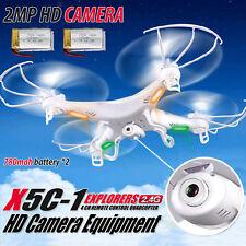 2.4GHz 4CH 6 Axis RC Quadcopter Drone RTF W/ HD Camera RC Dron Explorers New ILC