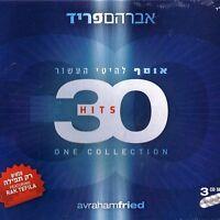 30 Hits One Collection - Avraham Fried  CD tripple album Jewish Worship Music
