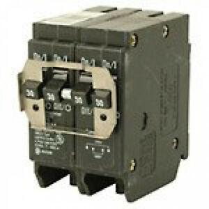Eaton BRDC230230 Breaker, 30/30A, 2P, 120/240V, 10 kAIC, CTL Quad, BR Series