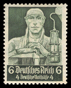 Germany Deutsches Reich 1934 Mi. Nr. 559 6+4 Rpf. Professions Nothilfe Issue MNG