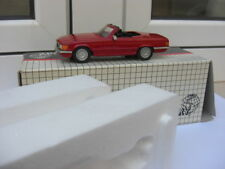 Mercedes 500SL cabrio 1975 red Century 2702 1:43 MIB 350sl 450sl 600 VERY RARE