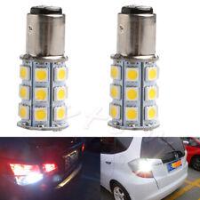4X1156 27SMD BA15S LED Auto Strobe Flash White light Car Parking Lamp Tail Bulb