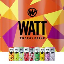 Energy Drink WATT 250 ml | OHNE Pfand | Dosen Getränke | 6er--24er Sorte wahlen