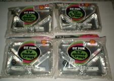 Vintage E-Z FOIL TV dinner Trays, Lot of 4 With 3 Trays in Original Package Rare