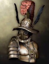 1/10 Kit de Modelo de Resina Busto Gladiador sin montar sin pintar (W)