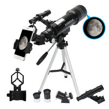 400mm x 70mm Astronomical Telescope With Smartphone Adapter And Tripod Best