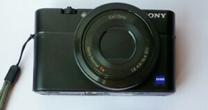 """""""FAULTY""""  , For REPAIR Or Spares Sony Cyber-shot RX100 20.2 MP Digital Camera"""