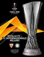 EUROPA LEAGUE FINAL 2020 INTER v SEVILLA OFFICIAL PROGRAMME!