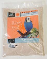 25kg Vogelsand Badesand Ziervögel fein keimfrei feuergetrocknet mit Kalk & Anis